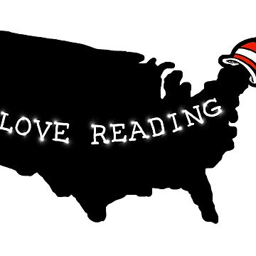 I Love Reading America by barmalisiRTB