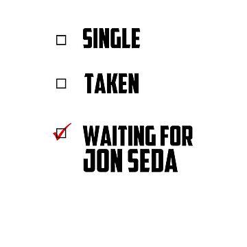 Waiting For Jon Seda by NessaElanesse