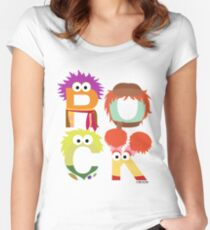 "A Fraggle ""ROCK"" Women's Fitted Scoop T-Shirt"