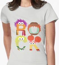 """A Fraggle """"ROCK"""" Women's Fitted T-Shirt"""