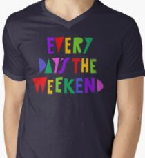 Weekend Every Day Men's V-Neck T-Shirt