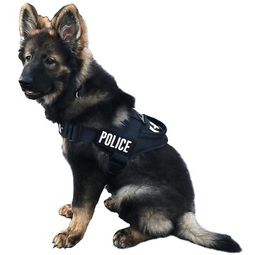 Police Puppy by Designs111