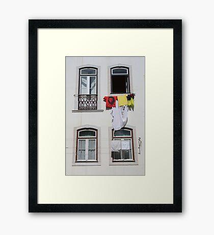 Windows on the world... Framed Print
