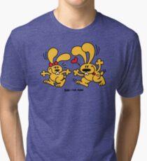 Hot Bunnies Tri-blend T-Shirt