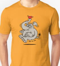 Fly me to the Moon Elephant Slim Fit T-Shirt