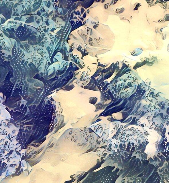 DEEP BLUE SEA by Printpix