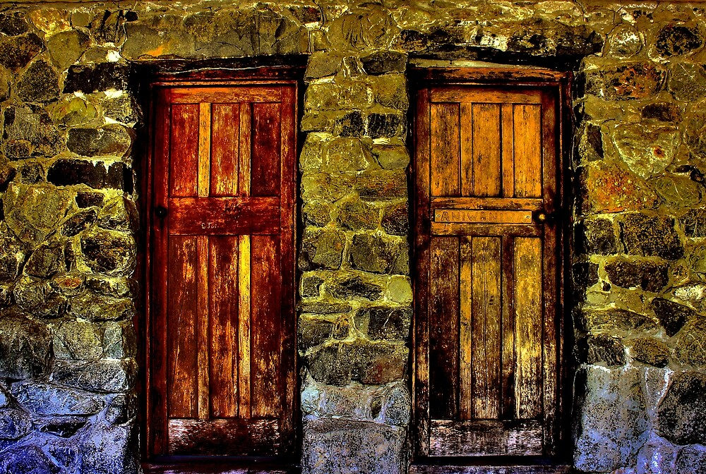 Two doors by kiwiguy
