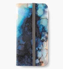 Ink 04 iPhone Flip-Case/Hülle/Skin