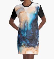 Ink 04 T-Shirt Kleid