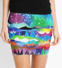 Winter Constellations Mini Skirt