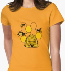 Bee happy in yellow T-Shirt