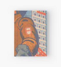 """""""Ihr Zuhause liegt in Ihren Händen"""" - UdSSR 1988 - Sowjetisches Propagandaplakat Notizbuch"""