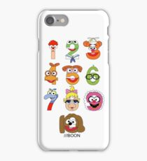 Muppet Babies Numbers iPhone Case/Skin