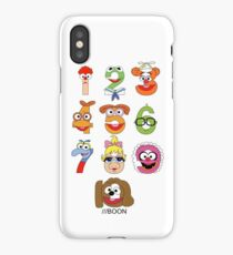 Muppet Babies Numbers iPhone Case