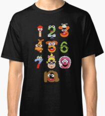 Muppet Babies Numbers Classic T-Shirt
