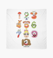 Muppet Babies Numbers Scarf