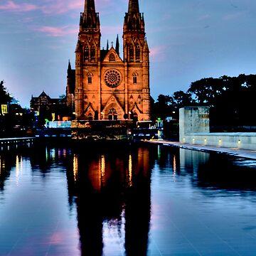 St Marys Cathedral - Sydney Festival First Night - Australia by BryanFreeman
