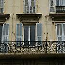 beautiful balustrade detail, Nice, France by BronReid