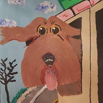 «Vent dans la fourrure» par AbigailBarryArt