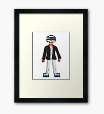 Retro Geek Chic - original Framed Print