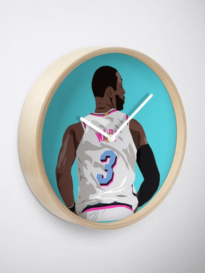 Alternate view of Dwyane Wade Back-To Clock