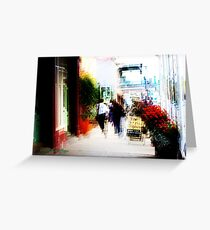 Downtown Daylesford Greeting Card