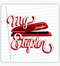 My Swingline Stapler Sticker