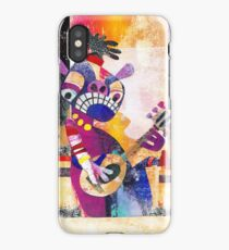 Riffin at the Temple iPhone Case/Skin