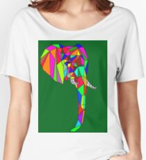 Prismatic elephant Women's Relaxed Fit T-Shirt