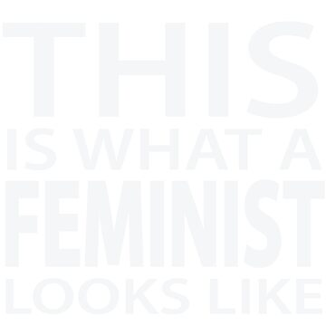 Feminist Declaration - Dark by morethanno
