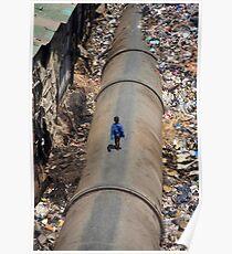 Dharavi, Mumbai, India Poster