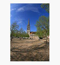 Abbey, St Savin Photographic Print