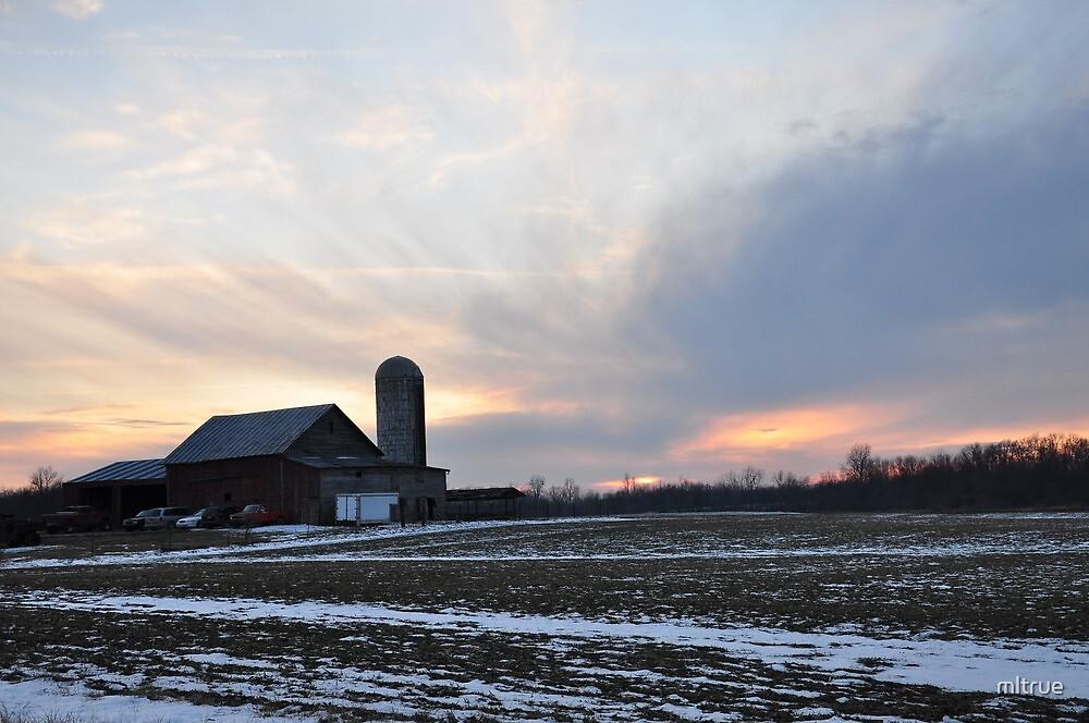 An Amazing Parker Sunset by mltrue