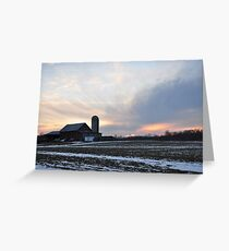 An Amazing Parker Sunset Greeting Card