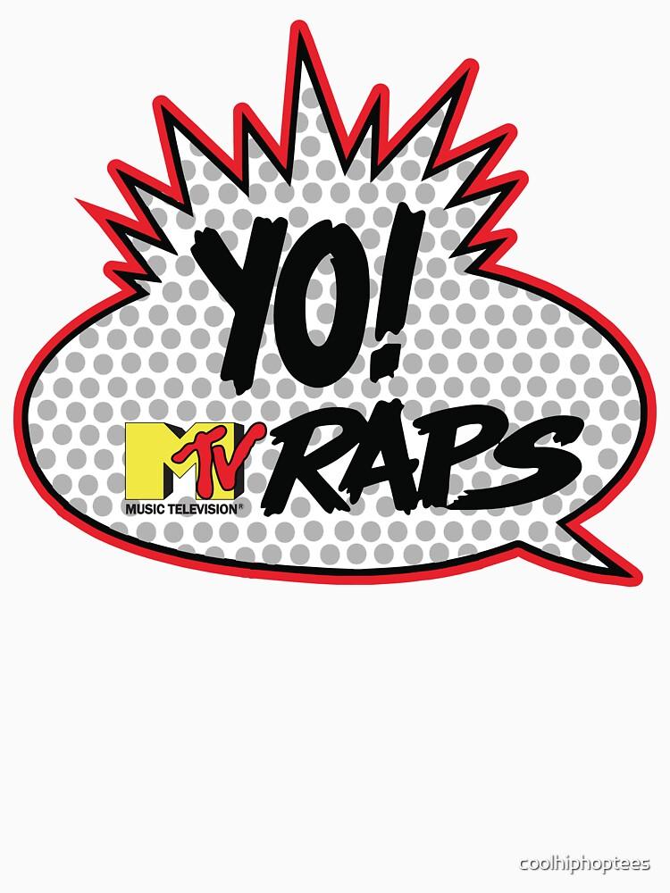 Yo MTV Raps T-Shirt by coolhiphoptees