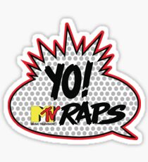 Yo MTV Raps T-Shirt Sticker