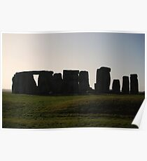 Stonehenge in the morning Poster