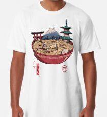 Ein japanischer Ramen Longshirt