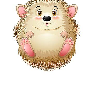 Hedgehog - Cute Hedgehog - Hedgehog Shirt - Gift For Hedgehog Lovers - Hedgehog Owners by Galvanized