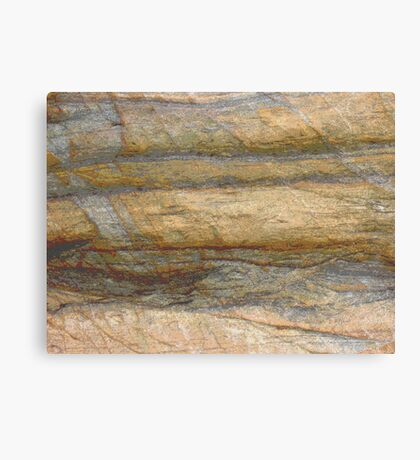 Sandstone Wall photo painting Canvas Print