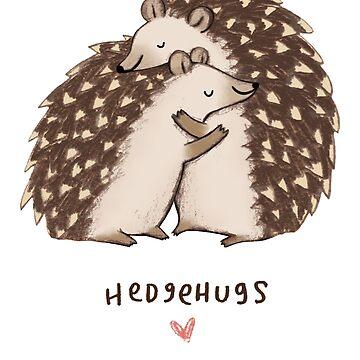 Hedgehog - Cute Hedgehog - Hedgehog Shirt - Hedgehugs - Gift For Hedgehog Lovers - Hedgehog Owners by Galvanized