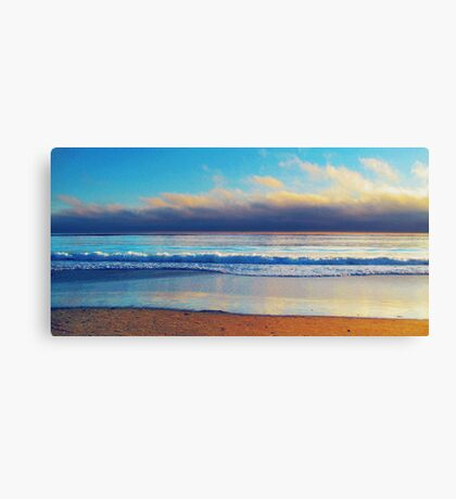 Shoreline photo painting Canvas Print