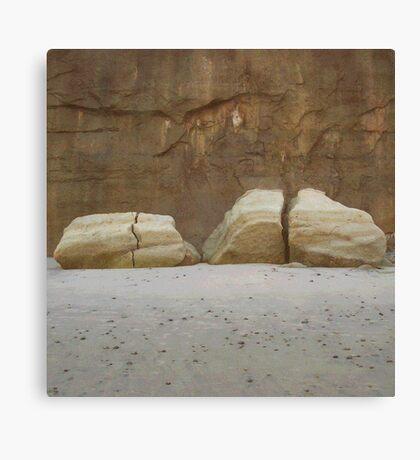 Split Rocks photo painting Canvas Print