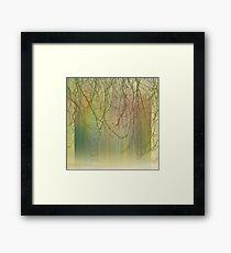 autumn texture II Framed Print