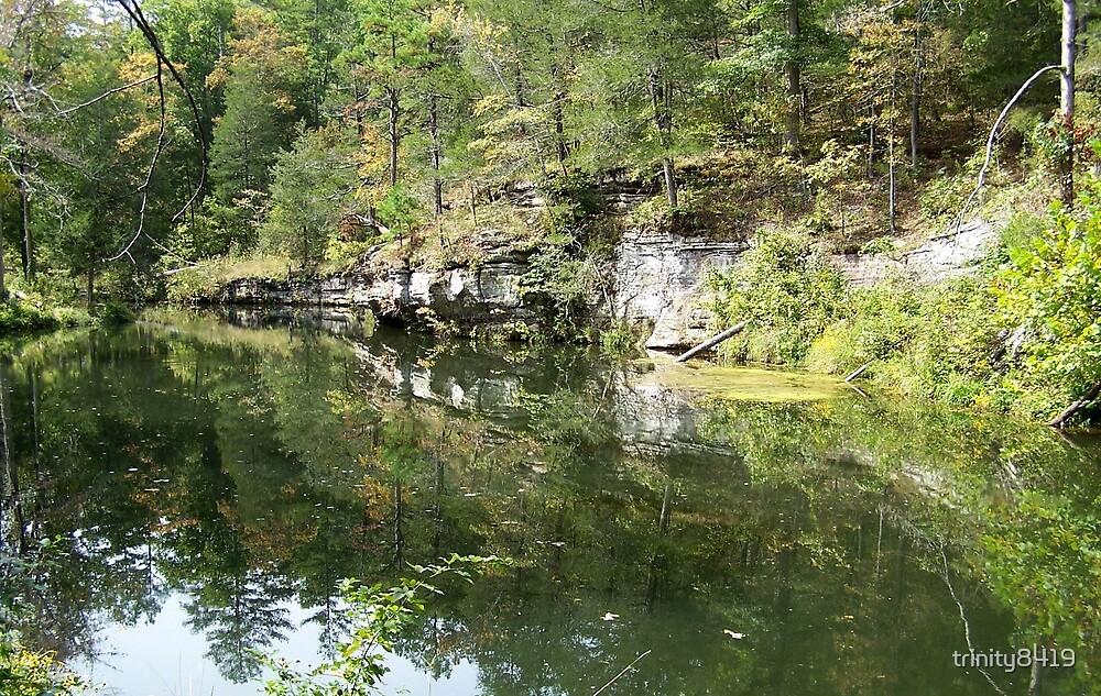 Mirror Lake, Blanchard Springs, Arkansas by trinity8419