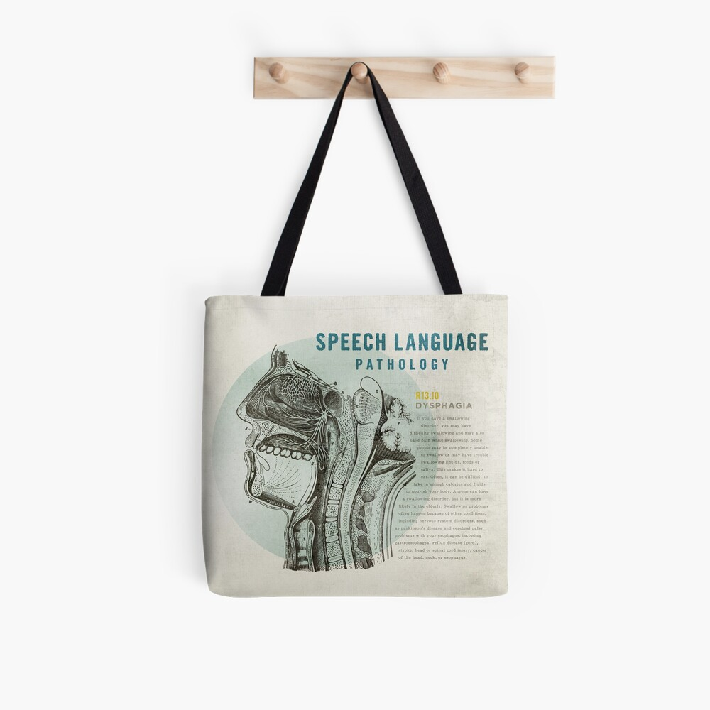 SLP Dysphagia Tote Bag