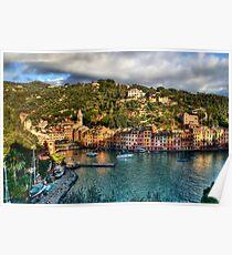Portofino Paint  two Poster