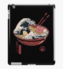 Große Ramenwelle iPad-Hülle & Klebefolie