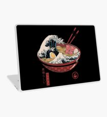 Große Ramenwelle Laptop Folie