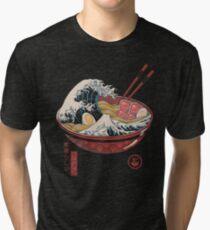 Great Ramen Wave Tri-blend T-Shirt